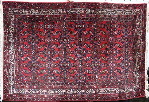 "14: Somers Estate semi-antique 4'7"" x 6'8"" Housenabad O"