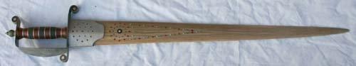 "1004: Swordfish bill sword - 36"""
