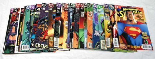 1007: Large lot of comic books - mostly action & super