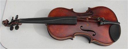 Wonderful antique school of Mittenwald German violin w