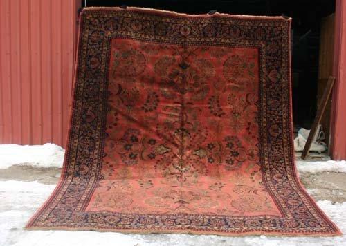 """11: Outstanding 9'x11'9"""" Sarouk Oriental Rug"""