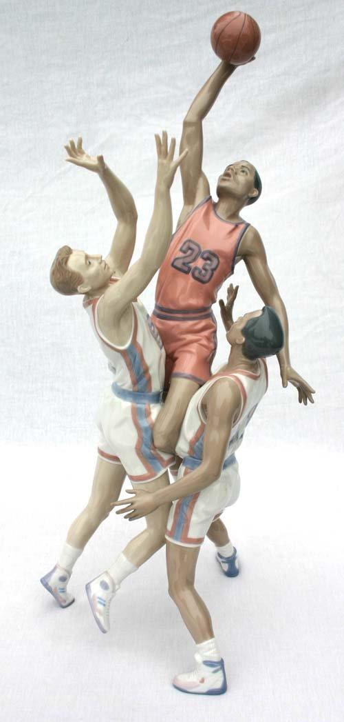 "12: rare & important Lladro porcelain 25"" figurine (ret"