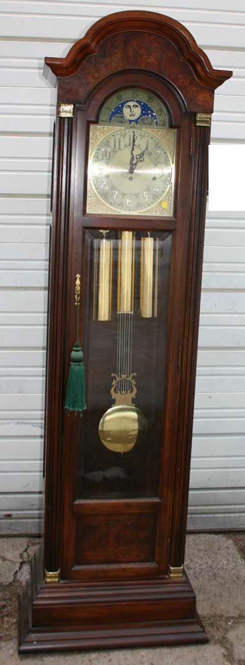 15: Fine quality 20thC Seth Thomas mhog tall clock