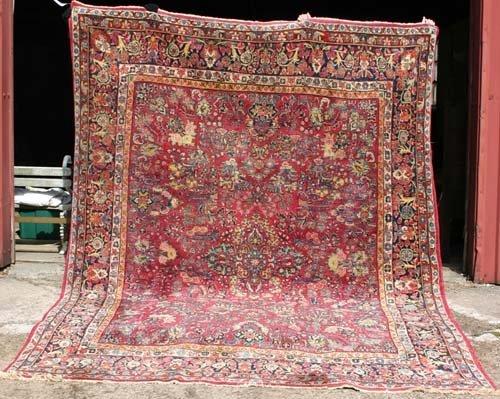 1: antique estate fresh very good cond Sarouk