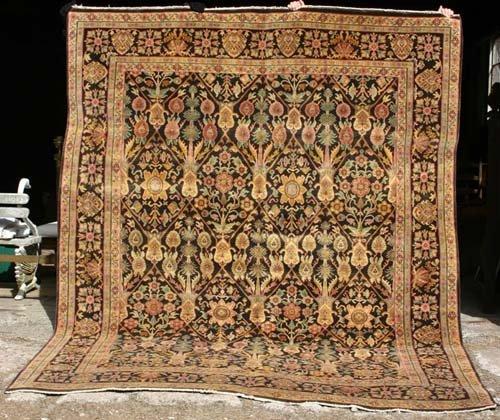 "21: 8'x 10'3"" Agra Serapi Oriental Rug"