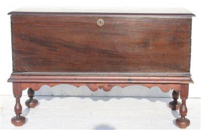 Fantastic Ca 1680 mahog, cedar & satinwood Bermudian