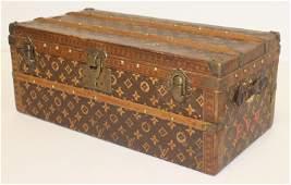"""very rare vintage Louis Vuitton """"Malle Fleurs"""" trunk -"""