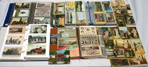 15: 1200 plu lot unreserved antique postcard collection