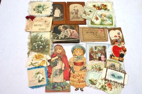 16: Great lot of antique ephemera incl Dionne Quints, S