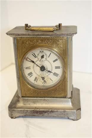 "German Bee Libertas alarm clock - 6"" tall x 5"" wide"