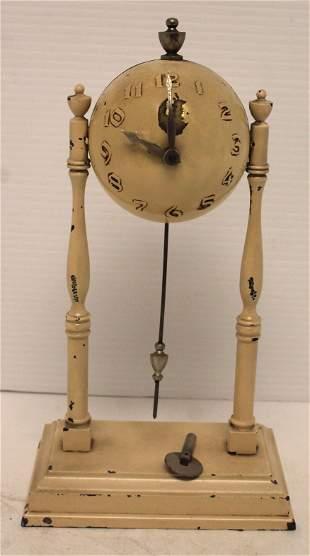 """Globe Clock Co World's Fair Baseball Clock - 9 1/2"""""""