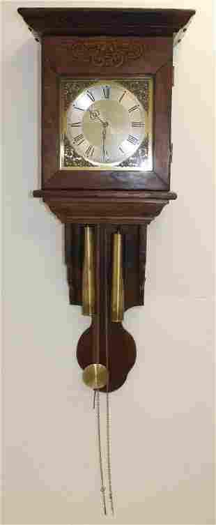 "Western Germany wall clock - 42"" tall x 16 3/4"" wide"