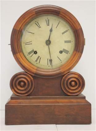 Ingraham & Co Bristol CT 8 day shelf clock - 14