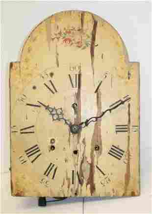 """Antique wag on the wall clock - 16 1/2"""" x 11 1/4"""" clock"""