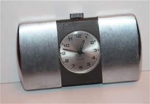 Westclox Art Deco travel clock