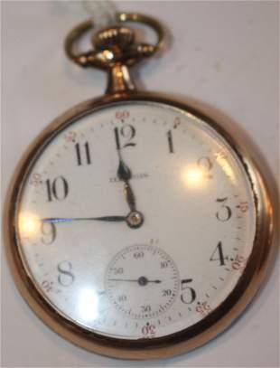 Illinois 17 jewel pocket watch Model B