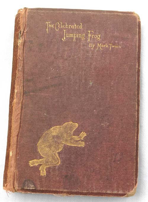 "9A: ""The Celebrated Jumping Frog"" by Mark Twain - true"