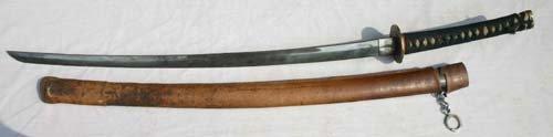 74: 19thC Japanese Samurai sword
