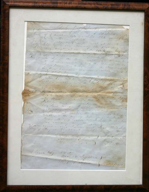 11: original Civil War Broadside dtd August 16, 1862 fr