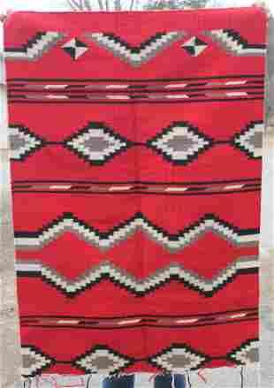 "Navajo rug - 33""x48"" as found"