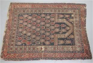 "3'7""x4'8"" Oriental area rug - as found"