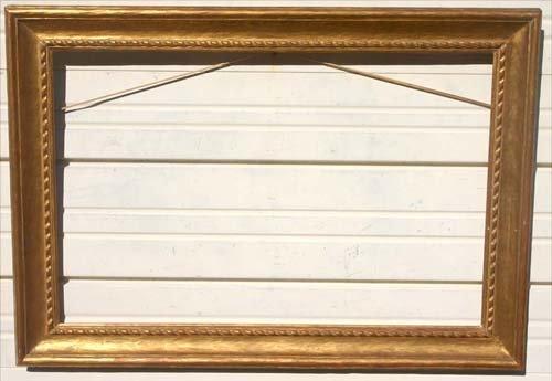 "1: Vose style antique gold gilt frame - 32 1/4"" x 22 1/"