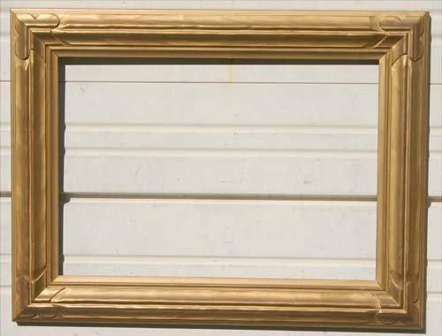 10: Fine J.H. Miller Arts & Crafts gold gilt frame - 20