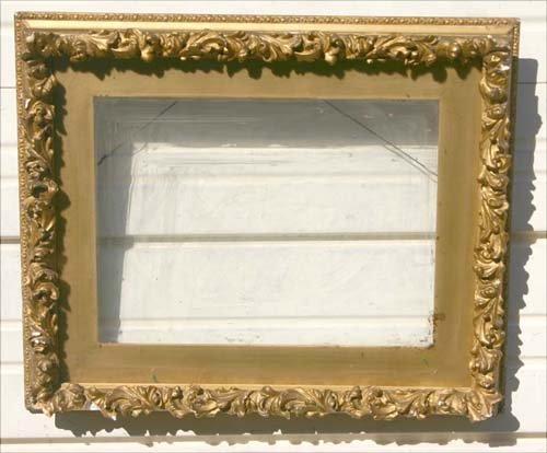 11: Great Foster Bros 19thC gold gilt frame - 16x12  -