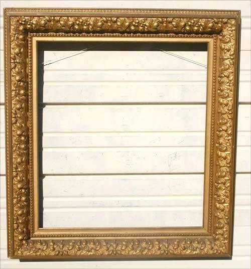 12: American Barbizon antique gold gilt frame - 22 1/2