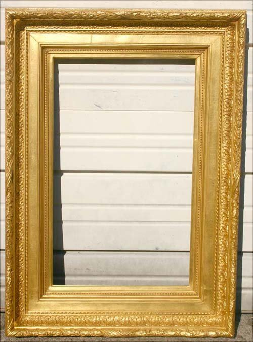 16: Beautiful 19thC Hudson River applied gesso frame in
