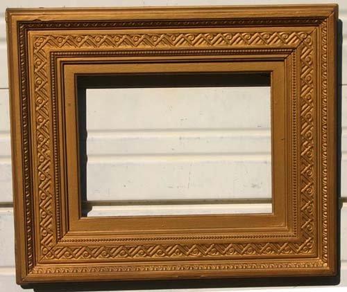 19: Important Sanford Gifford gold gilt frame - 9x12 1/