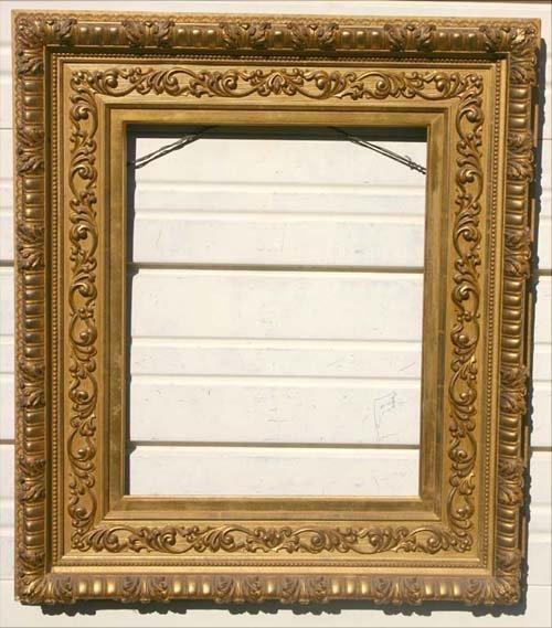 23: Fine J.D. Gill (Spfld, MA) antique gold gilt frame