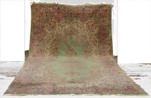 """7: 9'6""""x20'8"""" Persian Kirman over size Oriental Rug"""