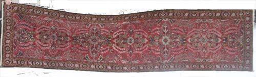 "13: 2'7""x10'2""semi antique Persian Hamadan Oriental Rug"