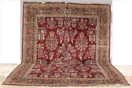 21: Outstanding 10'x14' Sarouk Oriental Rug