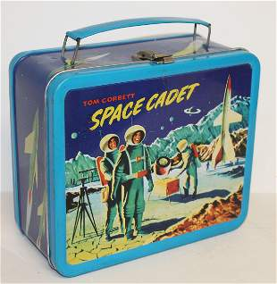 Space Cadet lunch box by TM & Braniacs Inc.