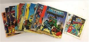 19 Masters of The Universe mini comic books