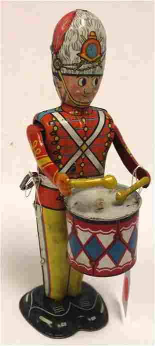 Marx tin wind-up Drummer soldier