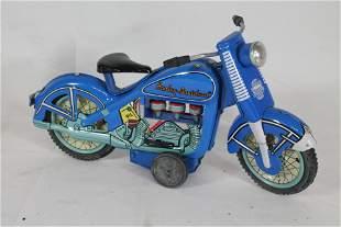 "Harley Davidson friction motorcycle - 9 1/4"" long"