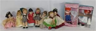 lot of vintage Madame Alexander dolls incl 2 in orig