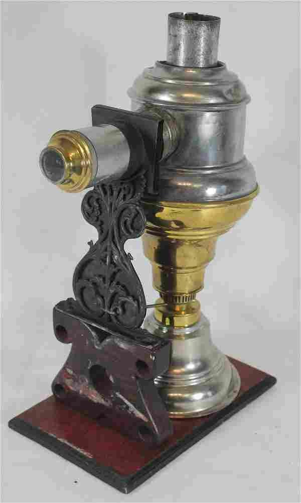 Antique Magic Lantern projector - as found