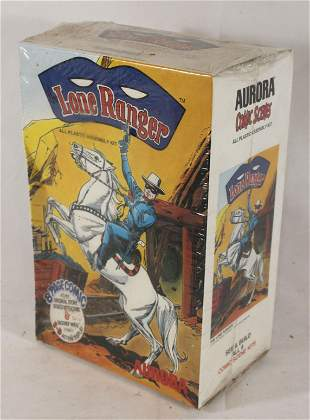 Aurora Lone Ranger toy action model kit