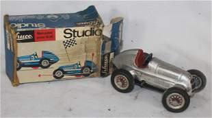 "Schuco Mercedes Anno 1936 race car in orig box - 5 1/2"""
