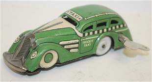 """Marx tin wind-up Tricky Taxi - 4 1/2"""" long"""
