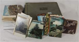 Large lot of postcards