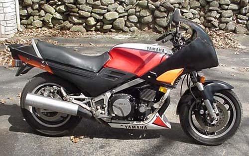 1I: 1985 Model FJ1100 4 cylinder Yamaha motorcycle w 11
