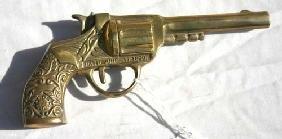 3: pat June 17, 1890 brass salesman sample gun