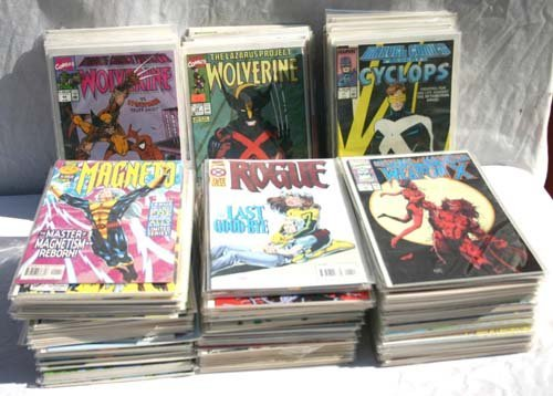 6: Comic Book lot of X-Men 1980 series run from #2-14 &
