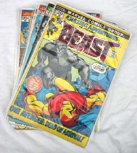 "7: Comic Book lot of Marvel comics ""Amazing Adventures"