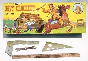 """12: Davy Crockett orig cased """"Walt Disney's Official Da"""